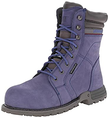 Caterpillar Women's Echo Waterproof Steel Toe Work Boot