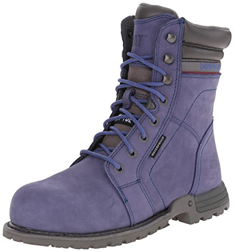 Caterpillar Women's Echo WP Steel Toe Work Boot, Marlin, 8.5 M US