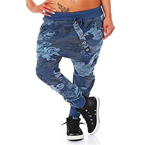 Yoga S Pump Plus Print Boyfriend Size Baggy Lunghi Hibote Harem 3 Sbuffo Sportivi Donna Aladin 5xl Pantaloni Jogging xZ4vpU