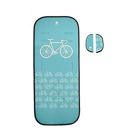 Dipos colchoneta silla de paseo ligera universal para carrito cochecito bebe transpirable de microfibra modelo +
