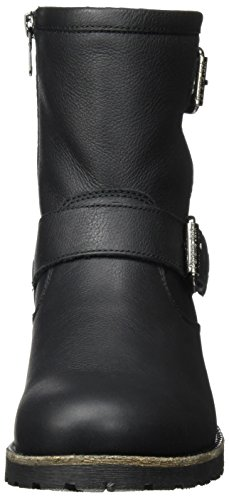 Panama Jack Dames Felina Iglo Enkellaars Zwart (black)