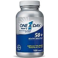 One A Day Men's 50+ Advantage Multivitamins, 100 Count