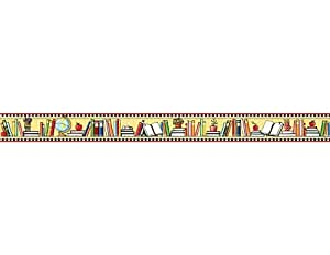 Teacher Created Resources We Love Books St Border Trim from Mary Engelbreit, Multi Color (4603)