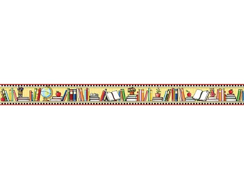 (Teacher Created Resources We Love Books St Border Trim from Mary Engelbreit, Multi Color (4603))