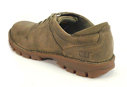 Caterpillar Caden Hombres Zapatos de cuero -Brown-45 Eni6IAAH