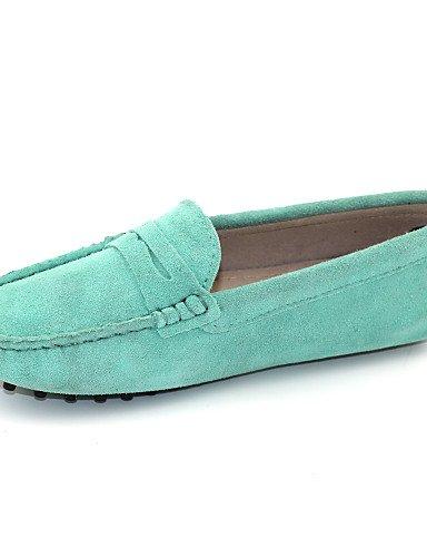 Zapatos de mujer - Tacón Plano - Comfort / Náuticos / Mocasín / Punta Redonda -