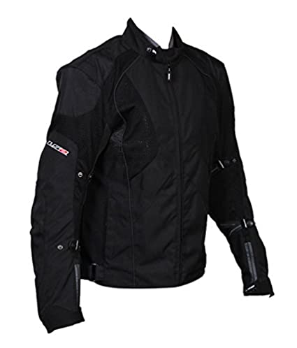 ls2 polyester men s mesh imported jacket black large amazon in