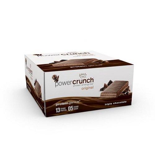 - Power Crunch Triple Chocolate, 1.4-Ounce Bar , 12 count