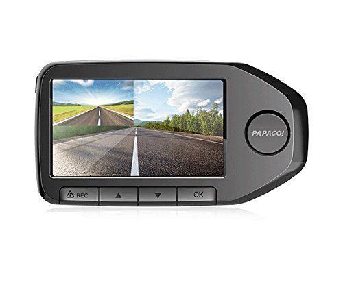 GS76032G PAPAGO GoSafe 760 Dual Lens Dash Camera PAPAGO Inc. Front 1080p /& Rear 1080p Wide Angle Coverage with 32GB Micro SD Card