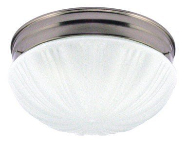 Westinghouse Lighting Corp 67212 2-Light Ceiling Fixture, Brushed Nickel