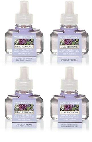 Yankee Candle Lilac Blossom ScentPlug Refill 4-Pack (Lilac Blossoms)