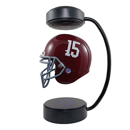 Hover Helmets Alabama Crimson Tide 15 NCAA Collectible Levitating Football Helmet with Electromagnetic (Crimson Helmet)