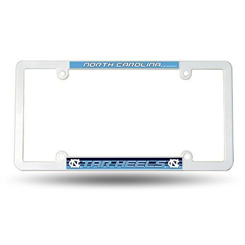 Rico Industries NCAA North Carolina Tar Heels Plastic License Plate Frame