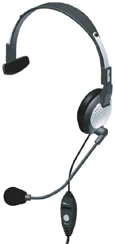Andrea Communications NC-181VM USB On-Ear Monaural Computer Headset with Noise-canceling Microphone