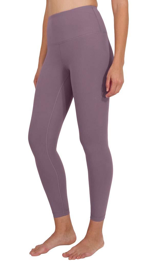 90 Degree By Reflex High Waist Power Flex Legging - Tummy Control - Vintage Lilac Ankle - XS by 90 Degree By Reflex