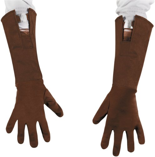 [Captain America Movie Gloves Size: Child] (Captain America First Avenger Halloween Costume)