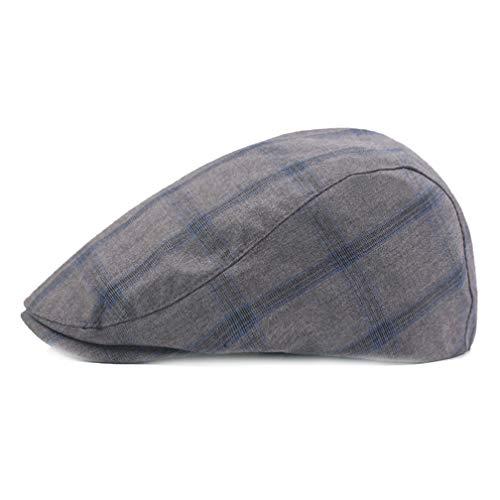Obert Fieldin Men Newsboy Hats Flat Ivy Gatsby Cabbie Driving Berets Hat Cotton Dad Cap