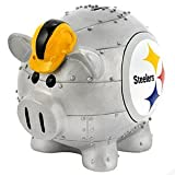 Forever Collectibles NFL Large Piggy Bank, Pittsburgh Steelers