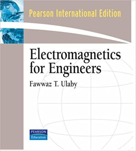 Book Electromagnetics for Engineers