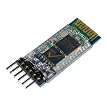 J-DEAL® HC-05 Wireless Bluetooth Host Serial Transceiver Module Slave and Master RS232 For Arduino