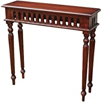 Sterling 6500819 Haines Wood Side Table, 29-Inch, Mahogany Stain