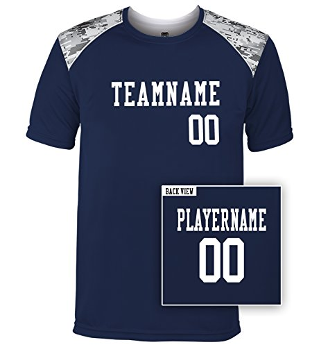 Custom Uniform Football Pant (Men's Custom Multi-Sport Tech Tee, Personalize with YOUR Names & Numbers-M)