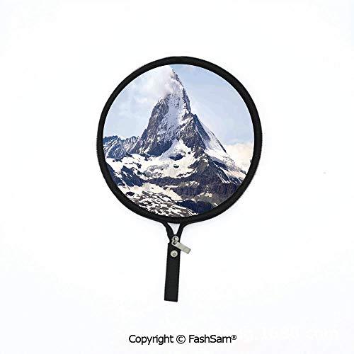 (Fashion Multi-Functional Waterproof Digital Bag Matterhorn Summit with Cloud Mountain Scenery Glacier Natural Beauty Mouse Pad)