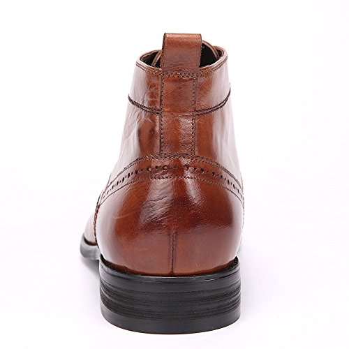 Argyll Mens Harold Plain Toe Light Skinned Chukka Boot Brown AnE27F