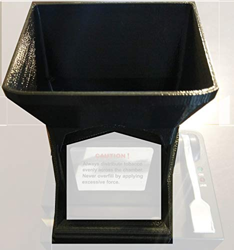 Hopper Two (V2 Ergo 3D Tobacco Hopper for Powermatic 2 and 2+ Cigarette Rolling Machine)