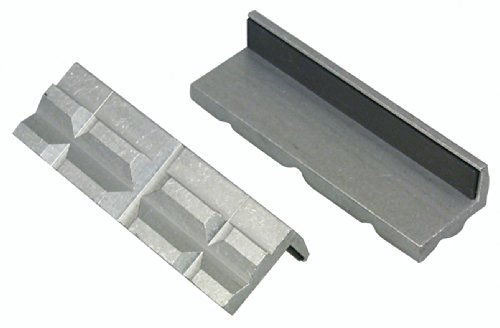 Lisle 48000 Aluminum Vise Jaw - Vise Pads