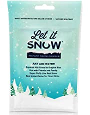 Let it Snow Instant Snow Powder for Slime - Premium Fake Snow for Cloud Slime and Holiday Snow Decorations - Made in The USA