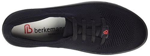 Berkemann Damen Allegra Sneaker Schwarz (Schwarz)