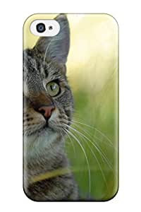 8184918K51408186 Hot Cat Tpu Case Cover Compatible With Iphone 4/4s