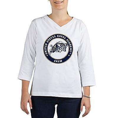 CafePress - US Naval Academy Crew - Women's Cotton Baseball Jersey, 3/4 Raglan Sleeve Shirt