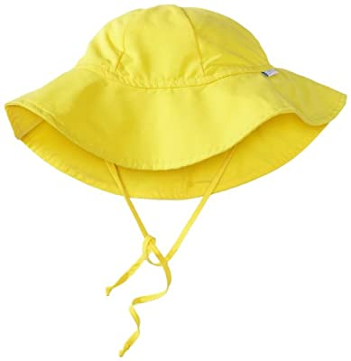 i play. Unisex-baby Infant Solid Brim Sun Protection Hat by i play.