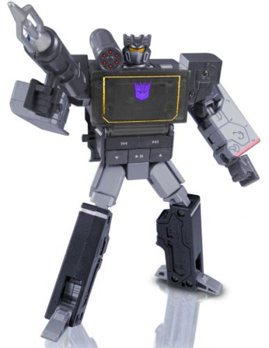 Transformers Takara Music Label MP3 Player Soundblaster