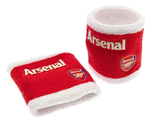 Arsenal F.c. Wristbands Rw Official Merchandise