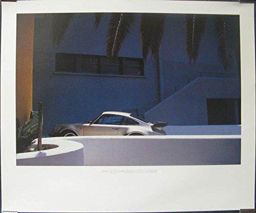 1984 Porsche 911 930 Turbo Showroom Poster