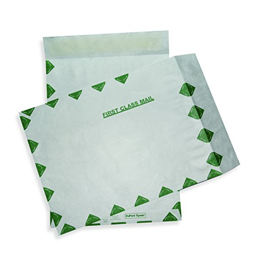 ALL-STATE LEGAL Tyvek Envelope, 7 1/2 x 10 1/2, First Class, 14 lb, Open End, Catalog Envelope, Pull & Close, (Class Open End Tyvek Catalog)