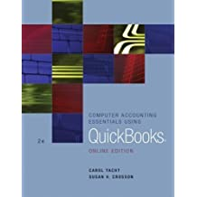 Computer Accounting Essentials Using QuickBooks: Online Edition by Carol Yacht (2004-05-03)