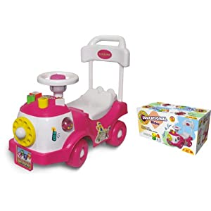 Toyzone Educational Kids Rider Car...
