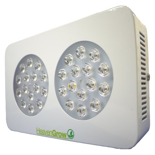 Lámpara cultivo LED aura S2 heavengrow Grow Light 90 W Lentes 2 x ...