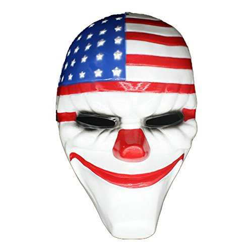 Payday2 Payday 2 Dallas,Hoxton,Wolf,Chains Mask Halloween -