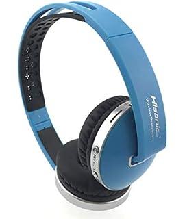 Auriculares Bluetooth Inalámbrico, Hisonic Casco Bluetooth con Tarjeta TF , Micrófono incorporado , Auriculares Bluetooth