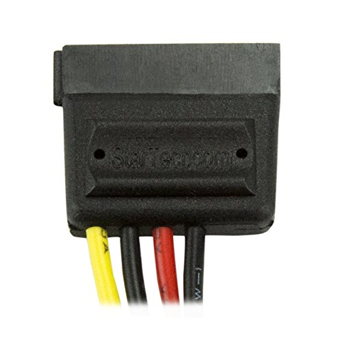 StarTech 6in 4 Pin Molex to SATA Power Cable Adapter (SATAPOWADAP)