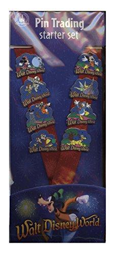 - Disney Pin - Storybook Night Starter Set with Lanyard - 108687