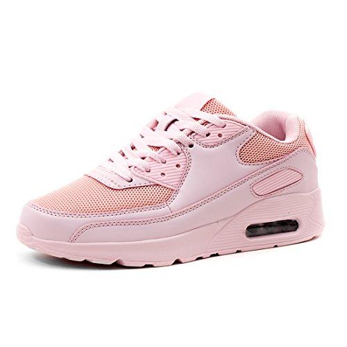 Damen Unisex Laufschuhe Fitness Sport Sneaker Herren Marimo Pink Schnür Turnschuhe Light Kinder Trendige w1Eqxx5U6