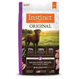 Instinct Original Grain Free Recipe With Real Rabbit Natural Dry Dog Food By Nature'S Variety, 4 Lb. Bag Review