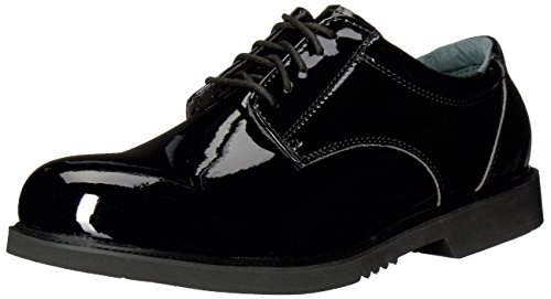 (Thorogood 831-6031 Men's Uniform Classics - Poromeric Oxford Shoe, Black - 10.5 D(M))