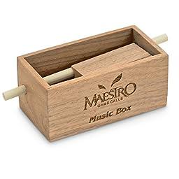 Maestro Buski Music Box Push Button Box Call